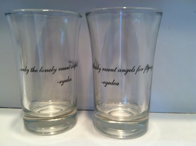 "Eyedea: ""Paradise"" Shot Glass"