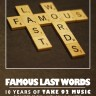 Sammy Warm Hands: Famous Last Words -- Expanded Edition [Book]