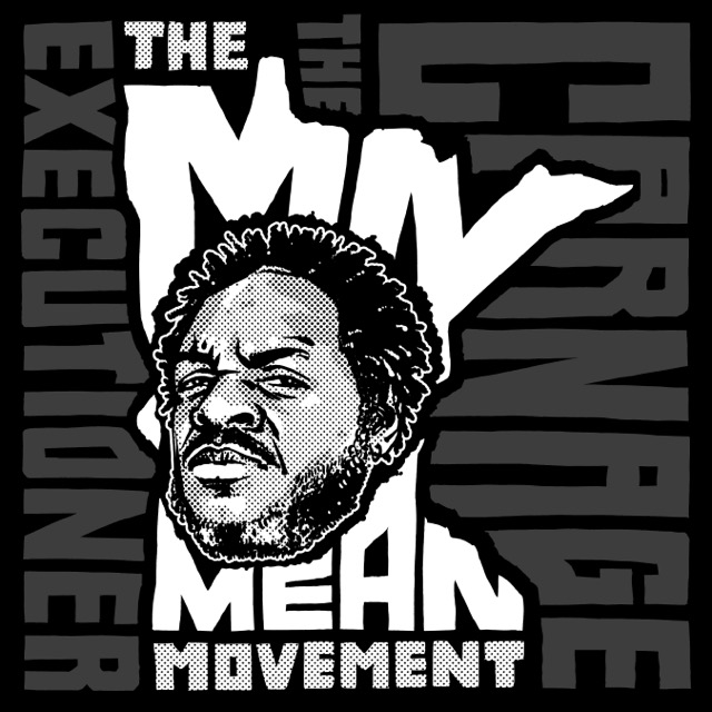 The MN Mean Movement ART (front)